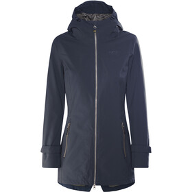 Meru Nikea Manteau imperméable 2 couches Femme, dress blue